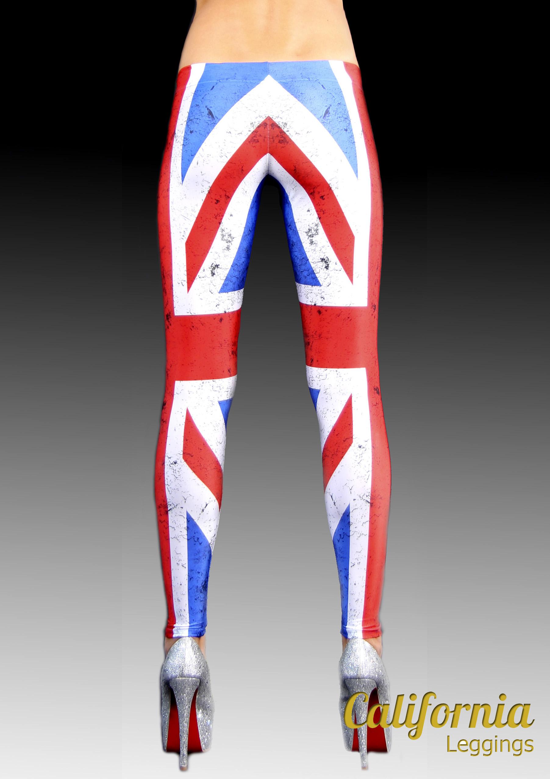 Леггинсы California Калифорния British flag