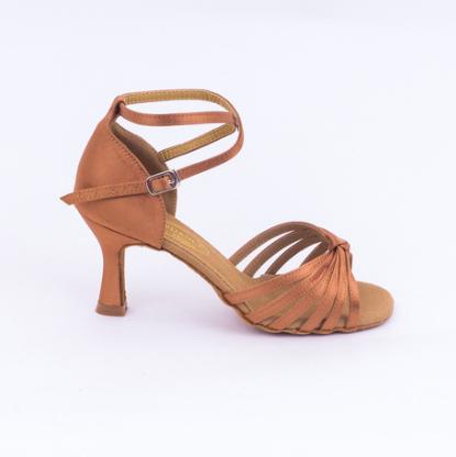 Туфли латина 013 бежевые Top Dance