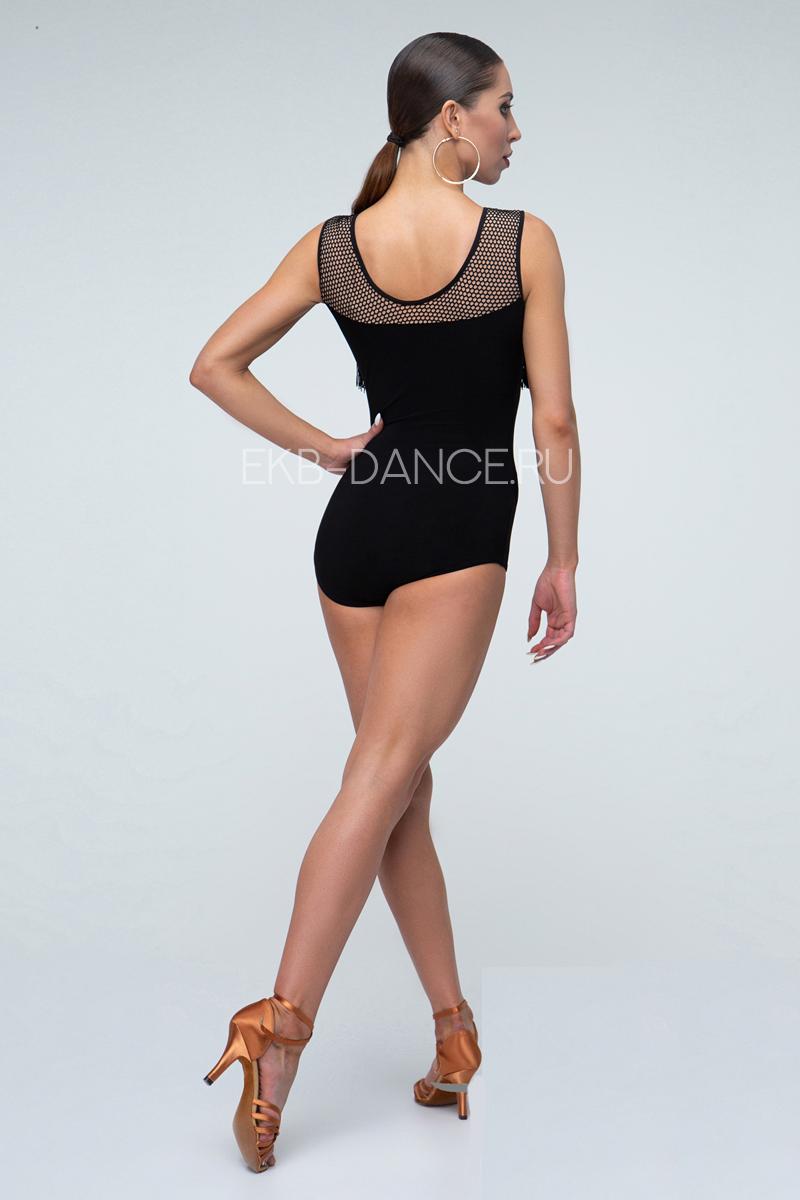 Купальник для танцев с бахромой КУ955