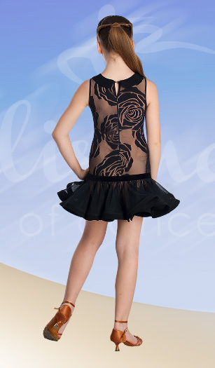 Платье для латины для девочки (ПЛ №645)