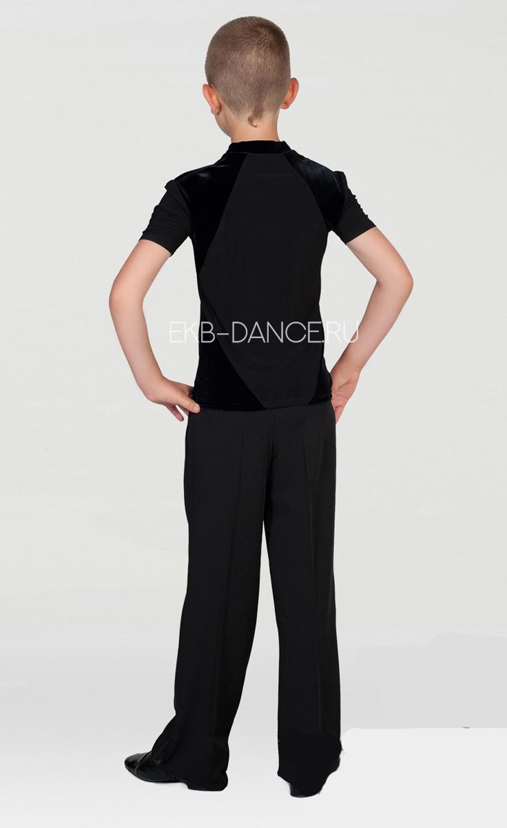 Рубашка тренировочная для танцев, для юниора