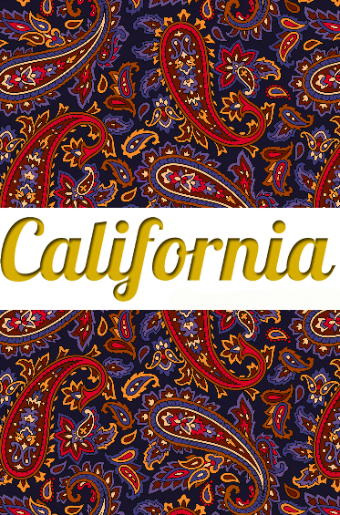 Леггинсы Калифорния California Paisley Dream
