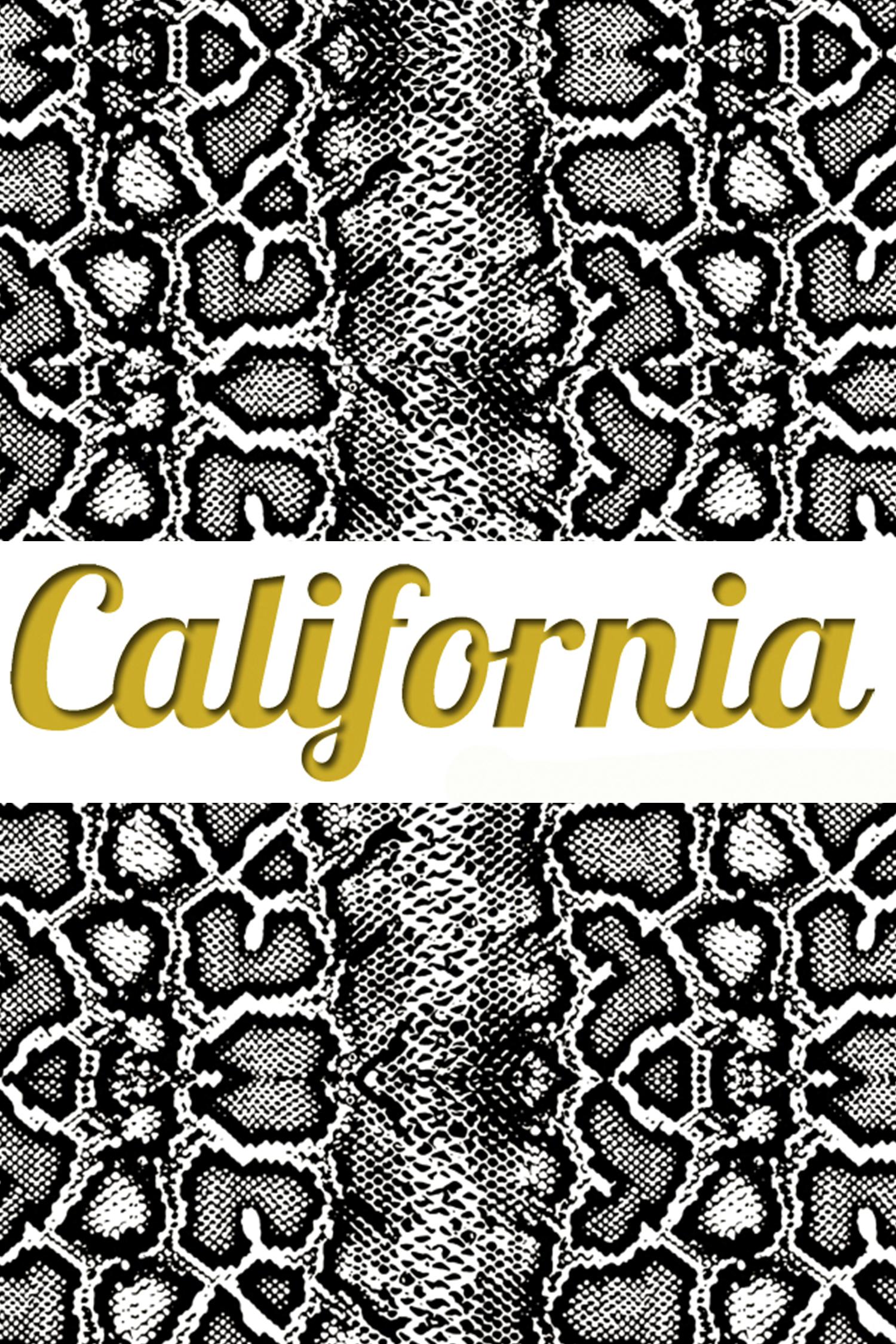 Леггинсы Калифорния California White Snake