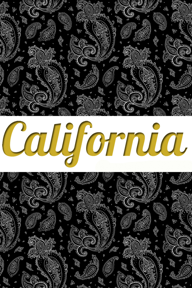 Леггинсы Калифорния California Paisley Creation