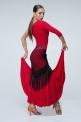 Красное платье для фламенко (ПЛ 1013)