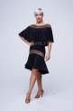 Латинская юбка с воланом (ЮЛ 929)