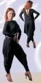 Блуза с запахом на спине и длинным рукавом (БЛ №147/1)