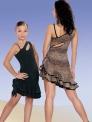 Платье, декольте-дырочка цветное, ЛЕОПАРД (ПЛ №63/1)