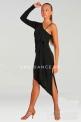 Платье латинское с одним рукавом (ПЛ №243)