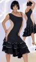 Платье латинское, телесная вставка (ПЛ №330)