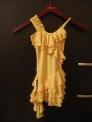 Платье с воланами (ПЛ №260), желтое
