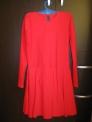 Платье рейтинговое 2.9, красное