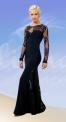Платье с гипюром (ПС №632)