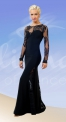 Платье вечернее с гипюром (ПС №632)