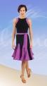 Платье латина (ПЛ №694)