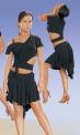 Блуза с открытым плечом (БЛ №73)