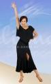 Платье стандарт (ПЛ 735)